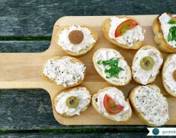 Easy Canapes Recipe - Goatsbridge Trout Pâté