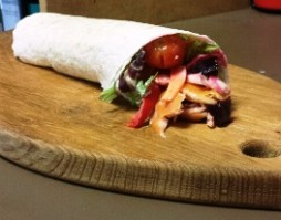 BBQ Trout Wrap Recipe