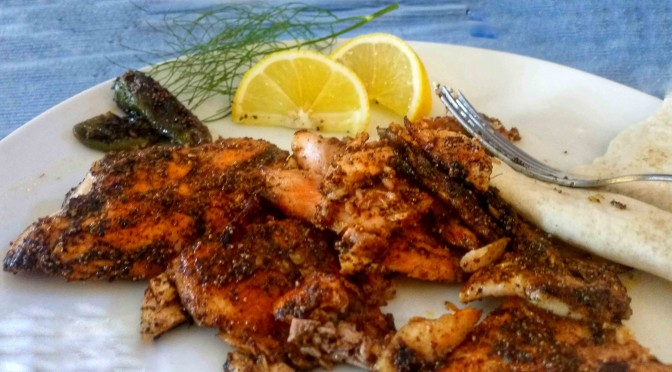 Quick Pan Spicy Trout Recipe