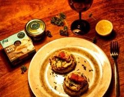Potato Cakes with Goatsbridge Trout Pate and Caviar