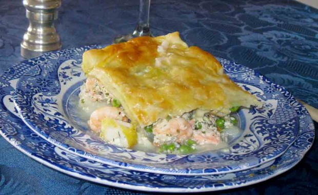 Cornish Trout Pie Recipe