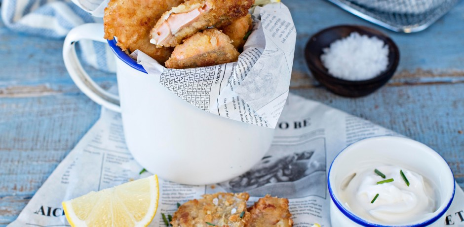 Trout Goujons with Aoili Recipe