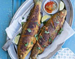 Pan-Fried Trout with Indian Spices