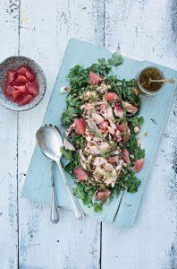 Goatsbridge Trout & Spelt Berry Salad Recipe