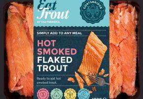 Hot Smoked Flaked Trout From Goatsbridge