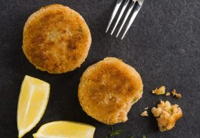 Trout-fishcakes
