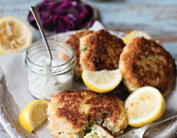 Gluten Free Herby Smoked Trout Fish Cake Recipe