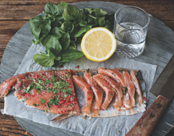 Vodka Trout Carpaccio