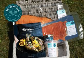 A hamper full of all our favourite Goatsbridge products