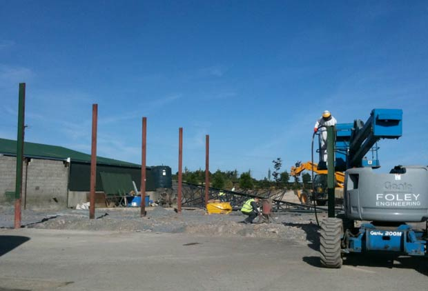 Building a New Factory at Goatsbridge Trout Farm